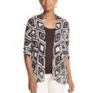 NWT Chicos open cardigan sweater